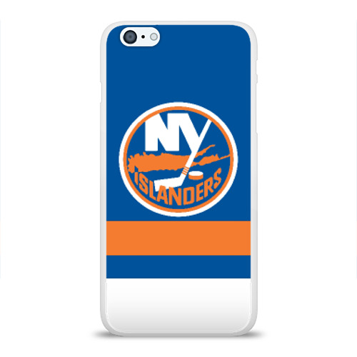 Чехол для Apple iPhone 6Plus/6SPlus силиконовый глянцевый  Фото 01, New York Islanders
