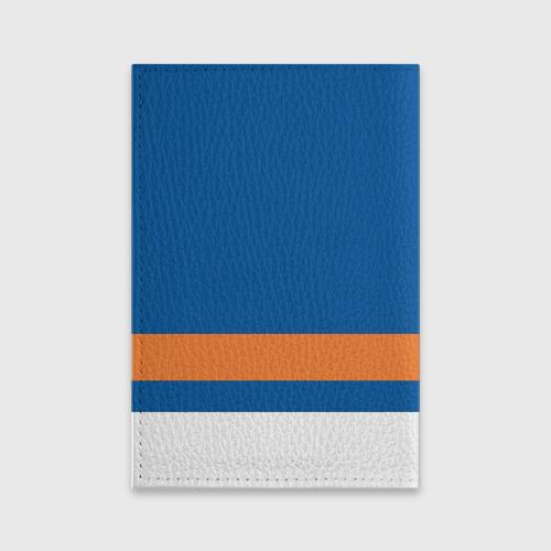Обложка для паспорта матовая кожа  Фото 02, New York Islanders