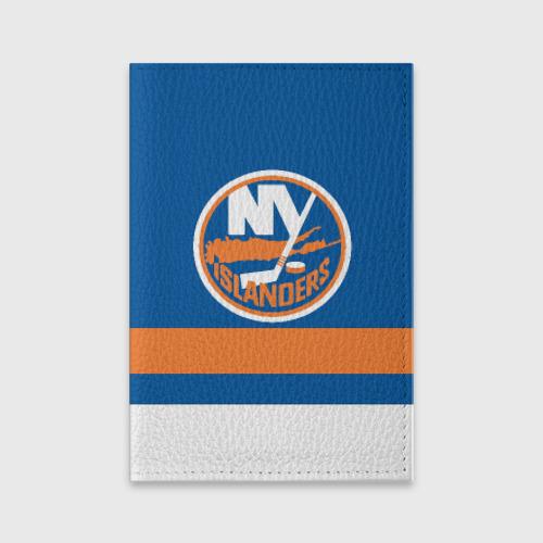 Обложка для паспорта матовая кожа  Фото 01, New York Islanders