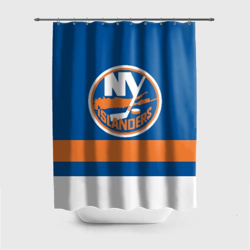 Штора 3D для ванной New York Islanders Фото 01