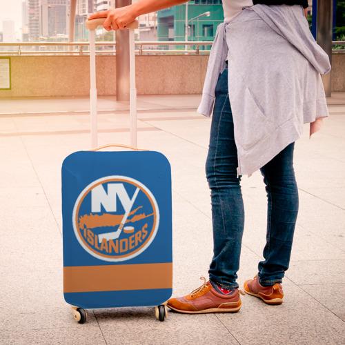 Чехол для чемодана 3D  Фото 04, New York Islanders