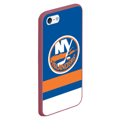 Чехол для iPhone 5/5S матовый New York Islanders Фото 01