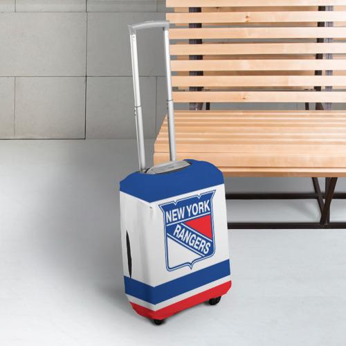 Чехол для чемодана 3D  Фото 03, New York Rangers