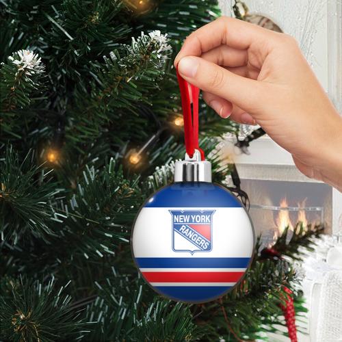 Ёлочный шар  Фото 03, New York Rangers