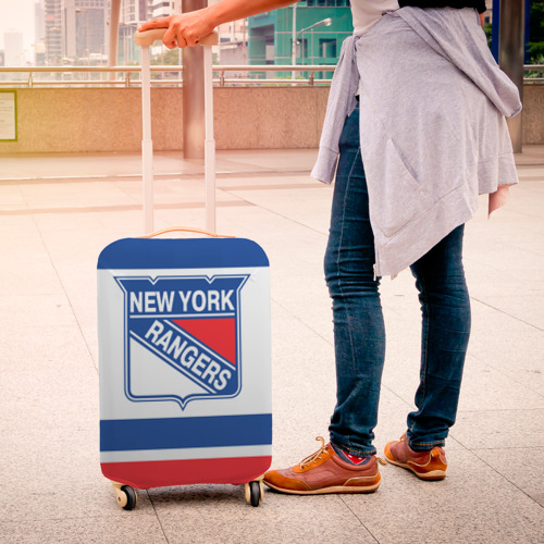 Чехол для чемодана 3D  Фото 04, New York Rangers