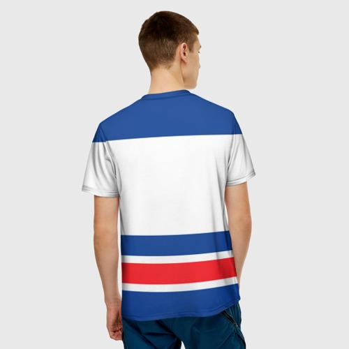 Мужская футболка 3D New York Rangers