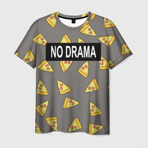 Мужская футболка 3D  Фото 03, No drama