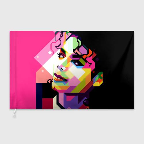 Флаг 3D Майкл Джексон Фото 01