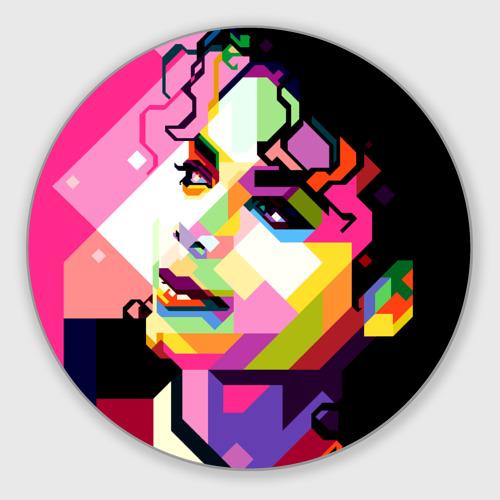 Коврик для мышки круглый Майкл Джексон Фото 01