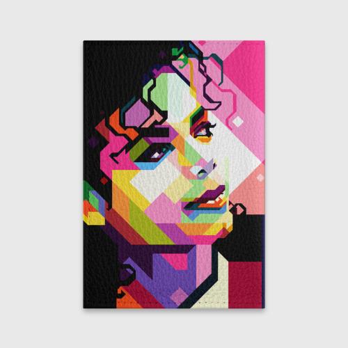 Обложка для паспорта матовая кожа  Фото 02, Майкл Джексон
