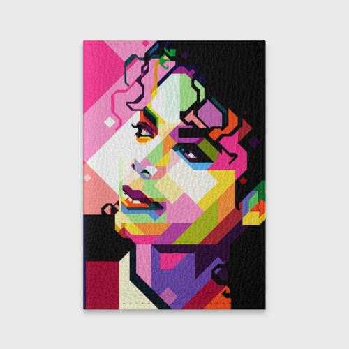 Обложка для паспорта матовая кожа  Фото 01, Майкл Джексон