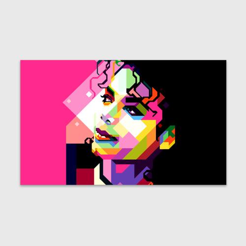Бумага для упаковки 3D Майкл Джексон Фото 01