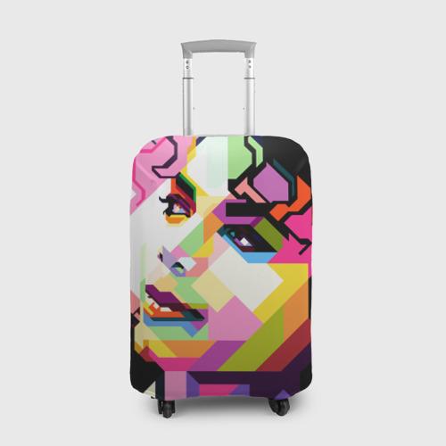 Чехол для чемодана 3D Майкл Джексон Фото 01