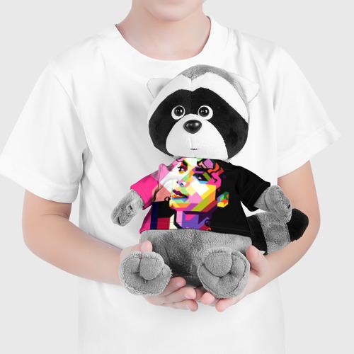 Енотик в футболке 3D  Фото 04, Майкл Джексон