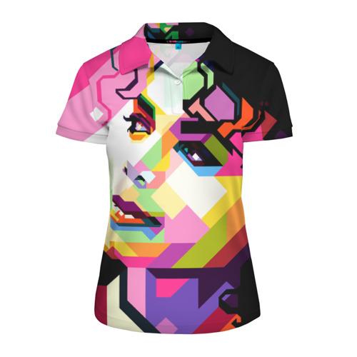 Женская рубашка поло 3D Майкл Джексон