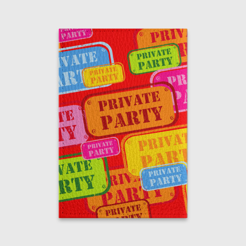 Обложка для паспорта матовая кожа  Фото 02, Private party