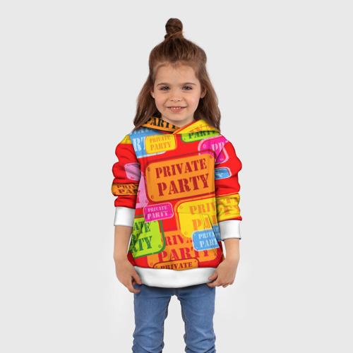 Детская толстовка 3D  Фото 01, Private party