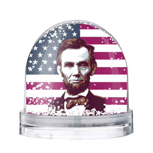 Водяной шар со снегом Авраам Линкольн