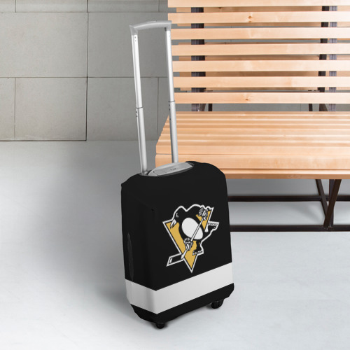 Чехол для чемодана 3D  Фото 03, Pittsburgh Penguins