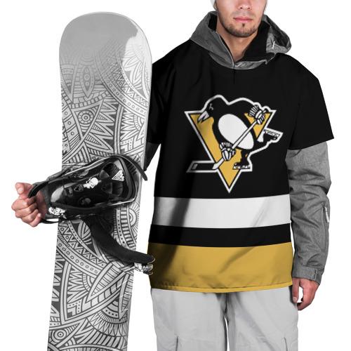 Накидка на куртку 3D  Фото 01, Pittsburgh Penguins