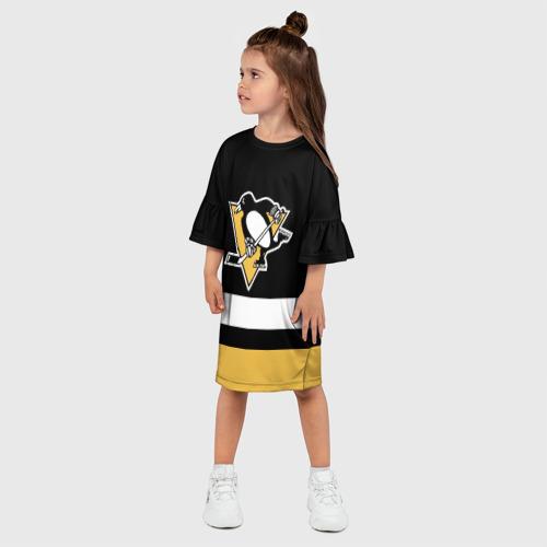 Детское платье 3D  Фото 03, Pittsburgh Penguins