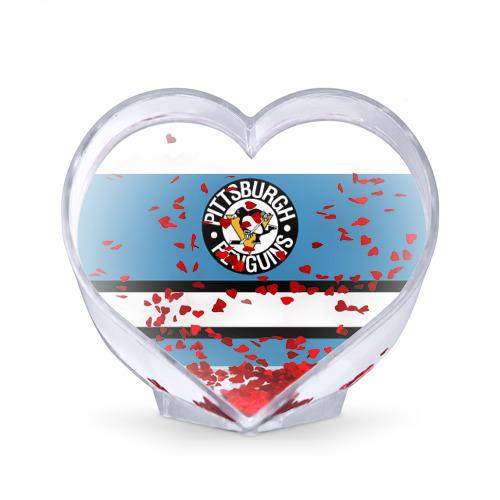 Сувенир Сердце  Фото 02, Pittsburgh Penguins blue
