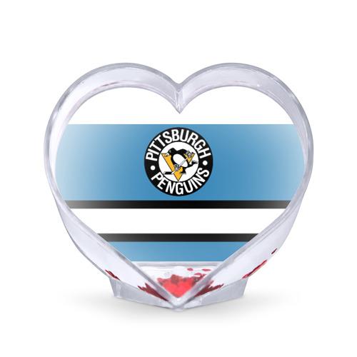 Сувенир Сердце  Фото 01, Pittsburgh Penguins blue