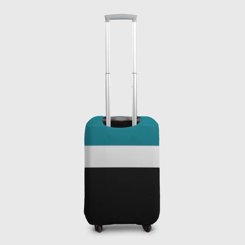Чехол для чемодана 3D  Фото 02, San Jose Sharks