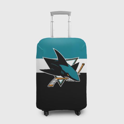 Чехол для чемодана 3D  Фото 01, San Jose Sharks