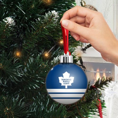 Ёлочный шар  Фото 03, Toronto Maple Leafs