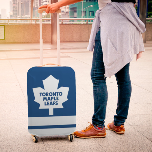Чехол для чемодана 3D  Фото 04, Toronto Maple Leafs