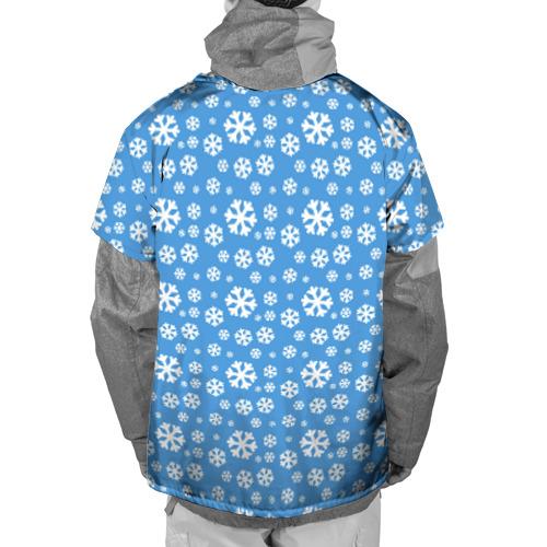 Накидка на куртку 3D  Фото 02, Я люблю Сибирь