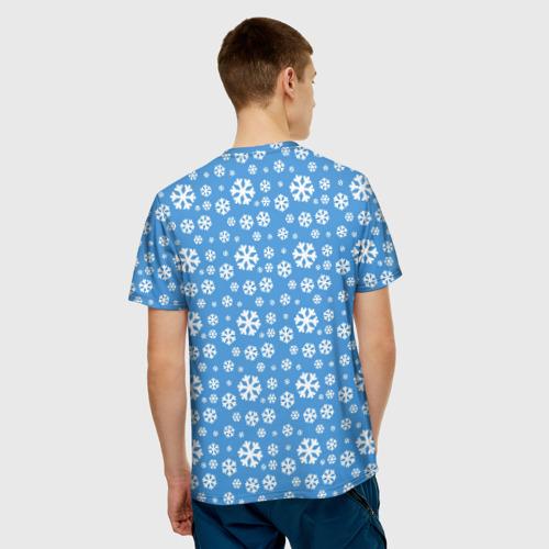 Мужская футболка 3D  Фото 02, Я люблю Сибирь