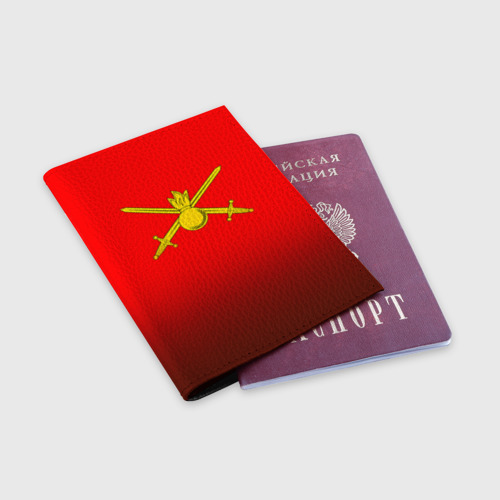 Обложка для паспорта матовая кожа  Фото 03, Сухопутные войска