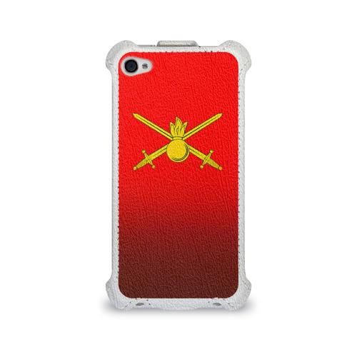 Чехол для Apple iPhone 4/4S flip  Фото 01, Сухопутные войска
