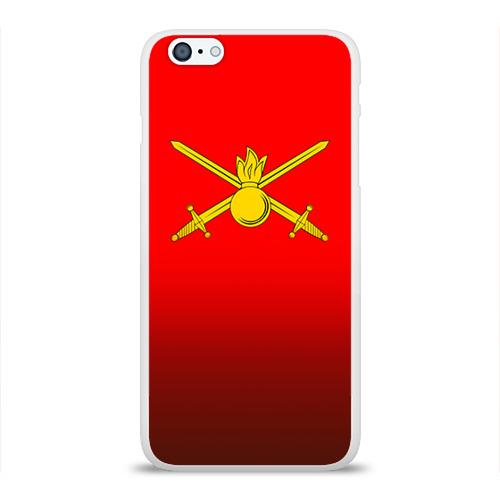Чехол для Apple iPhone 6Plus/6SPlus силиконовый глянцевый  Фото 01, Сухопутные войска