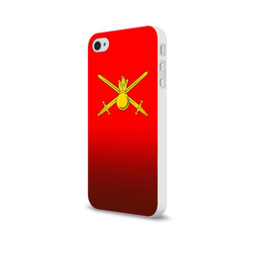 Чехол для Apple iPhone 4/4S soft-touch  Фото 03, Сухопутные войска