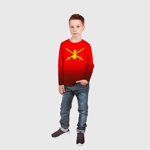Детский лонгслив 3D  Фото 05, Сухопутные войска