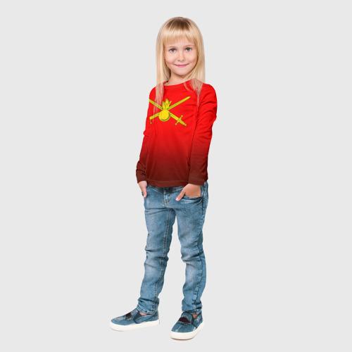 Детский лонгслив 3D  Фото 04, Сухопутные войска
