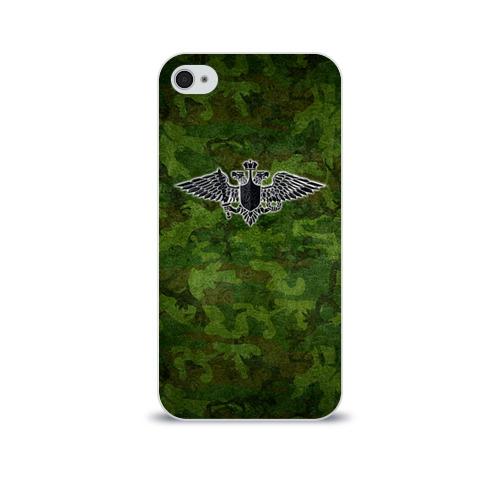 Чехол для Apple iPhone 4/4S soft-touch  Фото 01, Министерство обороны
