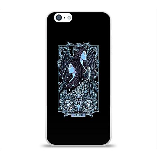 Чехол для Apple iPhone 6 силиконовый глянцевый  Фото 01, Близнецы