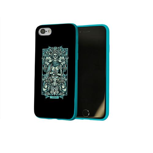 Чехол для Apple iPhone 8 силиконовый глянцевый Дева Фото 01