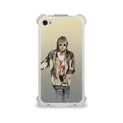 Чехол для Apple iPhone 4/4S flip  Фото 01, Nirvana