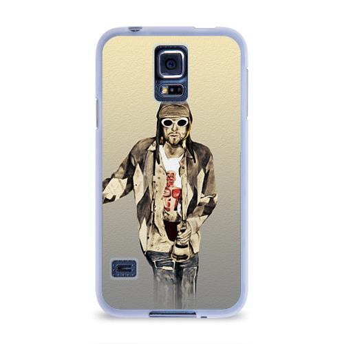 Чехол для Samsung Galaxy S5 силиконовый  Фото 01, Nirvana