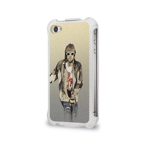 Чехол для Apple iPhone 4/4S flip  Фото 03, Nirvana