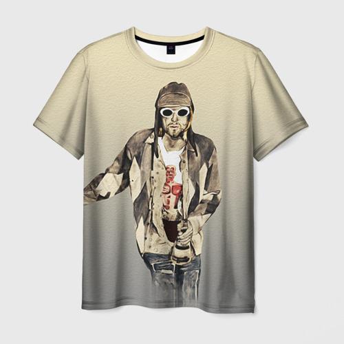 Мужская футболка 3D  Фото 03, Nirvana