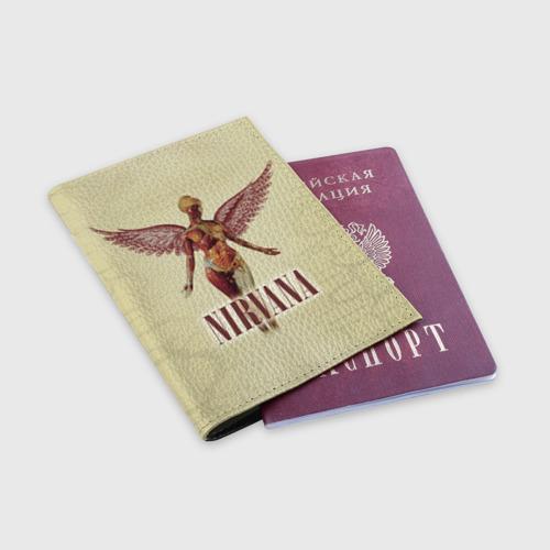 Обложка для паспорта матовая кожа  Фото 03, Nirvana