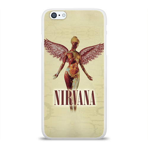 Чехол для Apple iPhone 6Plus/6SPlus силиконовый глянцевый  Фото 01, Nirvana