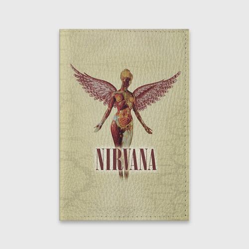 Обложка для паспорта матовая кожа  Фото 01, Nirvana