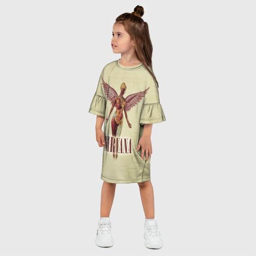Детское платье 3D  Фото 03, Nirvana